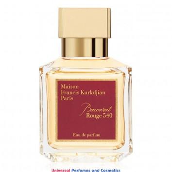 Our impression of Baccarat Rouge 540 Maison Francis Kurkdjian Unisex  Perfume Oil (10001) Ultra Premium Grade Luz