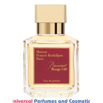 Our impression of Baccarat Rouge 540 Maison Francis Kurkdjian  Unisex Perfume Oil (10040) Ultra Premium Grade Luz