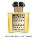 Our impression of Elysium Pour Homme Parfum Roja Dove for men  Perfume Oil (10043) Ultra Premium Grade Luz