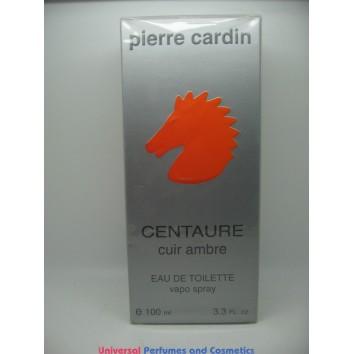 CENTAURE CUIR AMBRE BY PIERRE CARDIN 3.4 OZ/ 100 ML EAU DE TOILETTE EDT SPRAY NEW IN SEALED BOX ONLY $39.99