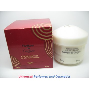 Panthere de cartier dusting powder recharge refill rare hard to find in factory box $129.99