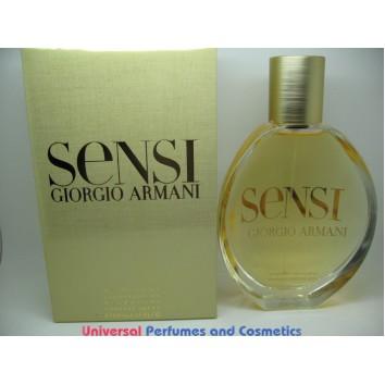 SENSI GIORGIO ARMANI 3.4 FL oz / 100 ML DEODORANT NATURAL SPRAY NEW IN SEALED BOX ONLY $99.99