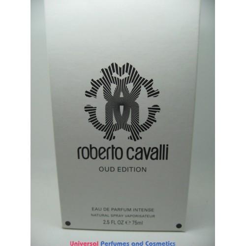 roberto cavalli oud edition 75 ml eau de parfum intense. Black Bedroom Furniture Sets. Home Design Ideas