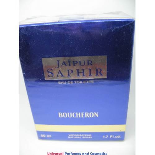 jaipur saphir perfume by boucheron 50ml eau de toilette spray original formula new and sealed