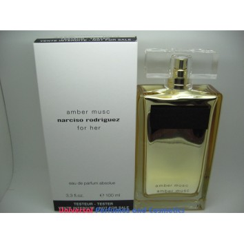 AMBER MUSC BY NARCISO RODRIGUEZ FOR HER 100ML EAU DE PARFUME ABSOLUE NEW 2013 TESTER ONLY $149.99