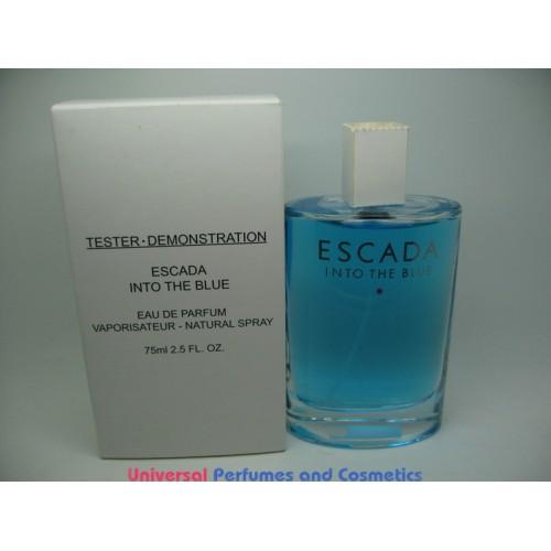 Escada Into The Blue Women Perfume Edp Parfum Spray 25 Oz 75 Ml