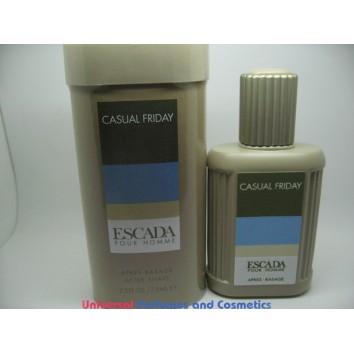 ESCADA POUR HOMME CASUAL FRIDAY MEN PERFUME'D AFTERSHAVE 75 ML SPLASH 2.5 OZ $69.99