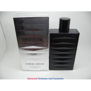 ATTITUDE GIORGIO ARMANI AFTER SHAVE BALM 2.5 OZ / 75 ML SPLASH NIB SEALED BOX $229.99
