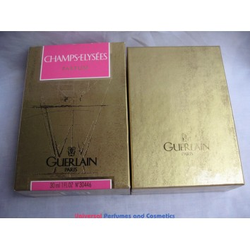 CHAMPS ELYSEES GUERLAIN 30ml PARFUM Pure Perfume Splash NEW IN BOX VINTAGE VERY HARD TO FIND
