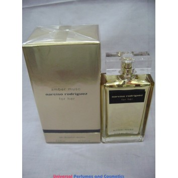 AMBER MUSC BY NARCISO RODRIGUEZ FOR HER 100ML EAU DE PARFUME ABSOLUE NEW IN SELAED BOX