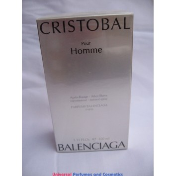 Cristobal pour homme By Cristobal Balenciaga After Shave Spray 100ML new sealed box