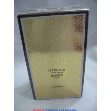 JANNAT BABY BY MEMO EAU DE PARFUM 75ML BRAND NEW IN SEALED BOX ONLY $129.99