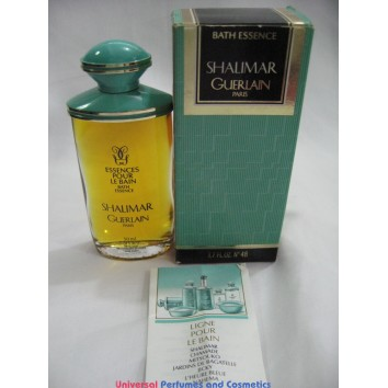 GUERLAIN SHALIMAR 50 ML BATH ESSENCE New in Factory Box (OLD FORMULA)