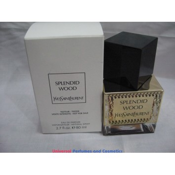 YVES SAINT LAURENT SPLENDID WOOD 80 ML EAU DE PARUM SPRAY  TESTER ONLY $192.99
