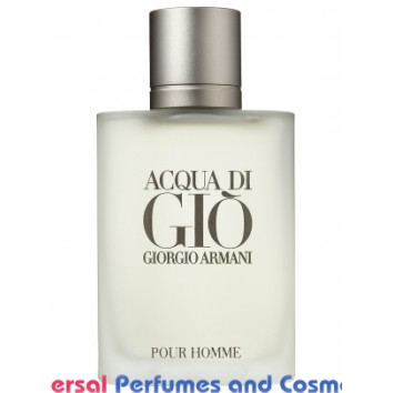 Acqua di Gio BY Giorgio Armani Generic Oil Perfume 50 Grams 50ML (000654)