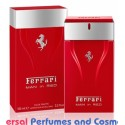 Man in Red By Ferrari Generic Oil Perfume 50ML (000965)