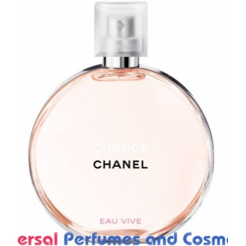 Chance Eau Vive Chanel By Chanel Generic oil perfume 50 Grams about 50ML (001408)