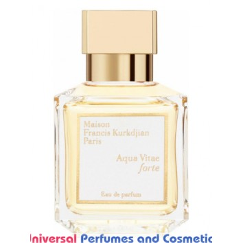 Aqua Vitae Forte Maison Francis Kurkdjian Unisex Concentrated Perfume Oil (08050) Premium