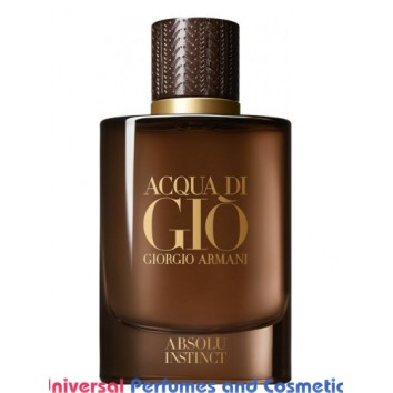 Acqua di Giò Absolu Instinct Giorgio Armani for Men Concentrated Perfume Oil (2161)