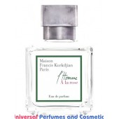 Our impression of L'Homme À la Rose Maison Francis Kurkdjian for Men Concentrated Perfume Oil (2432) Made in Turkish