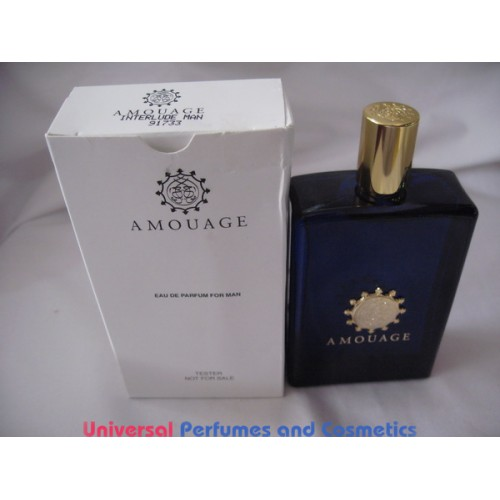 Perfume Tester Review: AMOUAGE INTERLUDE MAN EAU DE PARFUM BY AMOUAGE 100ML NEW TESTER ONLY $225