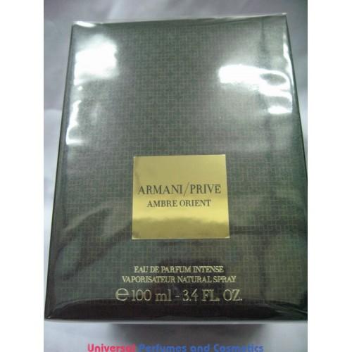 New Eau Armani De Parfum Factry Sealed 100ml In Prive Orient Ambre DYHW2IE9