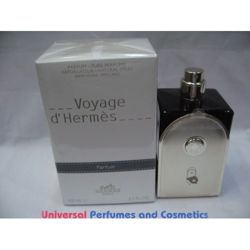 Voyage D Hermes Refillable By Hermes 100ml Pure Parfum
