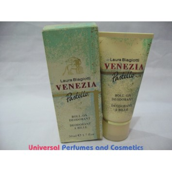 Venezia Pastello BY LAURA BIAGIOTTI ROLL ON DEODORANT 50ML FOR Women RARE ONLY $19.99 @UPAC