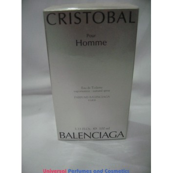 cristobal pour homme by cristobal balenciaga eau de toilette new sealed box