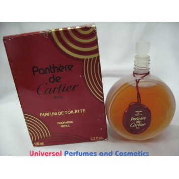 Panthere de Cartier 3.3 oz/ 100 ML Parfum de Toilette Splash NEW IN THE BOX