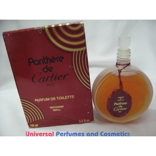 Panthere De Cartier 33 Oz 100 Ml Parfum De Toilette Splash New In