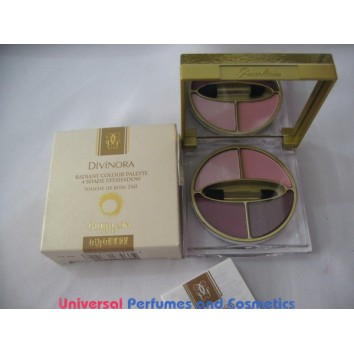 DIVINORA RADIANT COLOUR PALETTE 4 SHADE EYESHADOW # 260  TOUCHE DE ROSE