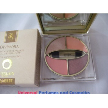 DIVINORA RADIANT COLOUR PALETTE 4 SHADE EYESHADOW # 242  TOUCHE MANDARINI