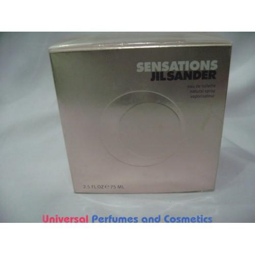 sensations jil sander 2 5 fl oz 75 ml eau de toilette. Black Bedroom Furniture Sets. Home Design Ideas