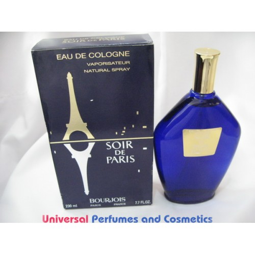 soir de paris by bourjois 230ml 7 7oz rare hard to find. Black Bedroom Furniture Sets. Home Design Ideas