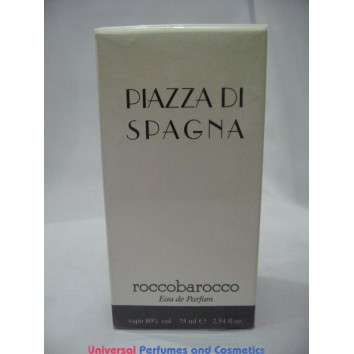 PIAZZA DI SPAGNA by Roccobarocco EDP for Women 75ML  RAREHARD TO FIND IN SEALED BOX