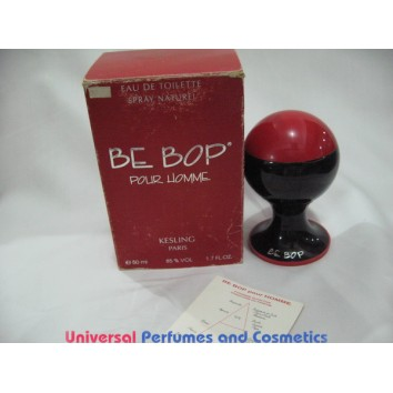 BE BOB  POUR HOMME BY KESLING 50ML EDT EAU DE TOILETTE SPRAY RARE HARD TO FIND COLLECTOR