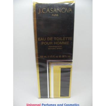 J. CASANOVA POUR HOMME EAU DE TOILETTE SPRAY 100ML