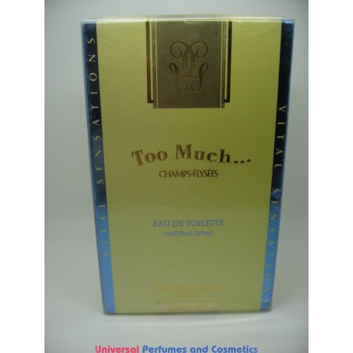 Too Much Champs Elysees By Guerlain 17 Fl Oz 50 Ml Edt Spray 4999