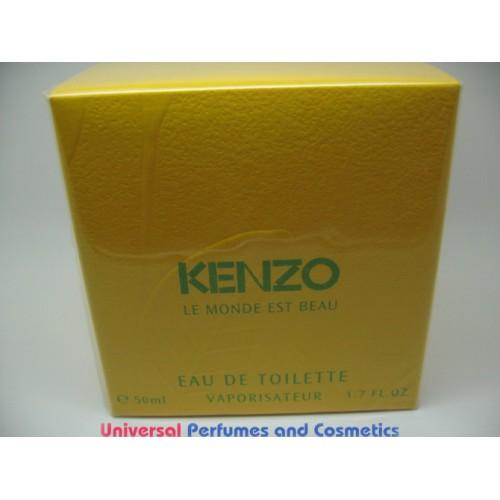 le monde est beau kenzo women perfume edt spray 1 7 oz nib. Black Bedroom Furniture Sets. Home Design Ideas