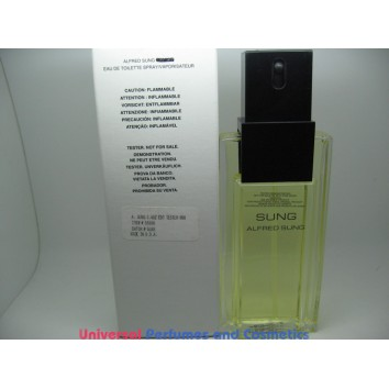 Alfred Sung Perfume by Alfred Sung for Women 3.4 fl oz Women's EDT Spray TESTER ONLY $49.99