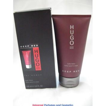 Hugo Boss Hugo Deep Red  Body Lotion for Women lot of 2x 150ML only $29.99 total 300ML