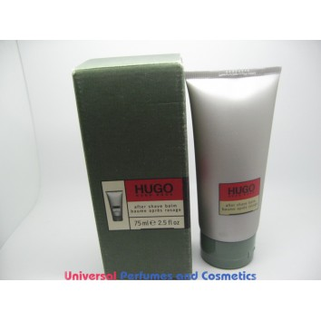Hugo Boss Hugo  After Shave Balm for men lot of 2 X75ML only $29.99 LOT OF TWO TOTAL OF 150 ML