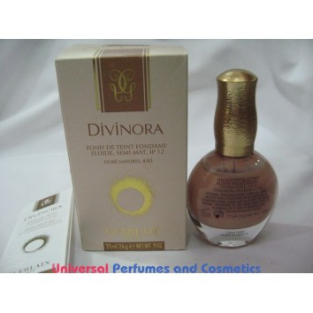 Divinora Silky Smooth Foundation SPF 12 - # 440 DORE NATUREL  by Guerlain is only $45.99 at UPAC