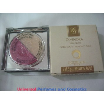 Guerlain Divinora Duo Gloss Gorgeous Diamond 502 2 X 1.5 G ONLY $18.99