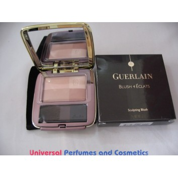 GUERLAIN Blush 4 Eclats Sculpting Blush - # 01 tendre aurore 9G BRAND NEW IN FACTORY BOX ONLY $33.99
