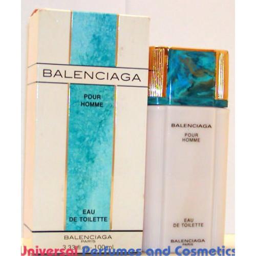 balenciaga pour homme by cristobal balenciaga edt for 3 33 oz 100ml nib