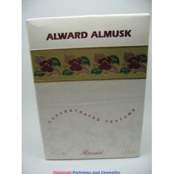 ALWARD ALMUSK الورد المسك BY RASASI 15ML CONCENTRATED PERFUME NEW IN SEALED BOX ONLY $25.99