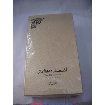 ASHAAR POUR FEMME أشعار للنساء  BY RASASI 100ML EAU DE PARUFM NEW IN SEALED BOX