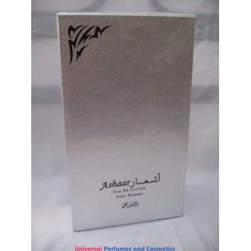 ASHAAR POUR HOMME   أشعار للرجال  BY RASASI 100ML EAU DE PARUFM NEW IN SEALED BOX